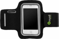 Zwarte Muvit Universal Sport Armband L Black