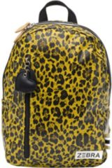 Zebra Trends Girls Rugzak M yellow leo Kindertas