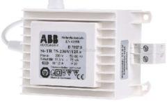 ABB Stotz S&J Si-TR75-230/12Lv - Sicherheits-Trafo 75W 230/11,5V Si-TR75-230/12Lv, Aktionspreis