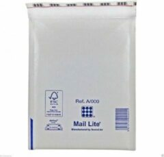 Witte Luchtkussen envelop - Mail Lite A/000 - 110 x 160 mm - 100 stuks