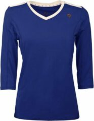 Blauwe Q1905-Quick Dames Tee Brush lsl Q Surf the Web