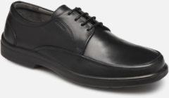 Zwarte Sledgers Gaf Leather Black - Maat 40