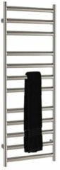 SSI Design Athena handdoekradiator RVS geborsteld 120x35cm 373W