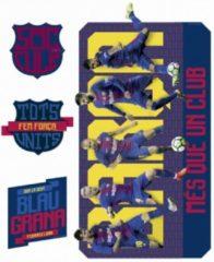 Imagicom Muursticker FC Barcelona - 5 spelers - Voetbalkamer