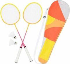 Roze Sunnylife Badminton Set - Twee Rackets, Tas en Shuttles