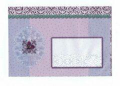 Merkloos / Sans marque Luxe Gekleurde Enveloppen - 100 stuks - Lila - B6 175X120 mm - 100grms