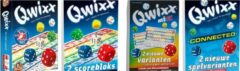 White goblin Qwixx + Qwixx Scorebloks + Qwixx Mixx + Qwixx Connected