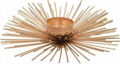 Home & Styling collection Waxinelichthouder - Goud - Metaaldraad - Sunspikes - Home & Styling