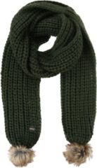 Kaki Regatta Great Outdoors Womens/Ladies Lovella Pom Pom Scarf