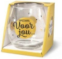 Gouden Miko Wijn- waterglas - Speciaal voor jou