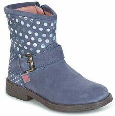 Blauwe Boots en enkellaarsjes Vagabunda by Agatha Ruiz de la Prada
