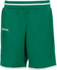 Spalding Move Basketbalshort Dames - Groen / Wit | Maat: 34
