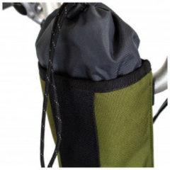 Restrap - City Stem Bag - Stuurtas maat 1 l, zwart/olijfgroen