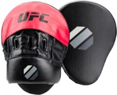 UFC stootkussens Contender Curved Focus 26 cm rood/zwart