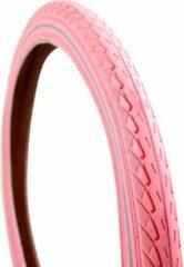 Roze Delitire Deli Tire Deli buitenband 22x1.75 2083 R real pink