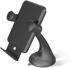 ZENS Draadloze Autolader met Standaard | Inclusief USB-kabel | 5W | Zwart voor o.a. iPhone Xr, Xs Max, Xs, X, 8 Plus, 8 - Samsung Galaxy S10, S9, S8, S7 & S6 Modellen - Huawei Mate 20 Modellen