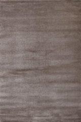 Impression Rugs Enjoy Effen Velvet Vloerkleed Bruin Laagpolig - 160x230 CM