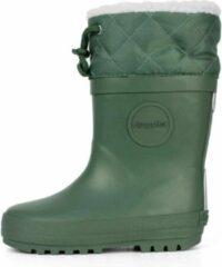 Druppies Regenlaarzen Gevoerd - Winter Boot - Groen - Maat 25