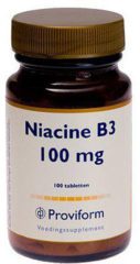Vitamine B3 niacine 100 mg van Proviform : 100 tabletten