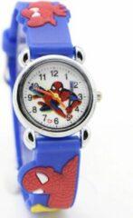 12Getit Spiderman kinderhorloge donkerblauw