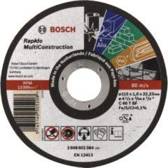 Bosch Power Tools 2 608 602 384 (25 Stück) - Trennscheibe Rapido MC115x1,0mm 2 608 602 384