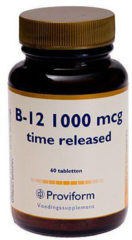 Proviform B12 1000mcg Time Released Tabletten 60st