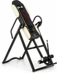 Klarfit Ease Delux inversiebank zwaartekrachttrainer tot 136 kg 1,54-1,98 m beige