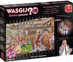 JUMBO Puzzel Wasgij Destiny 19 Cafe De Puzzelhoek 1000 Stukjes (6139166)