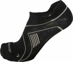 Zwarte Mico Low Cut Running Sock