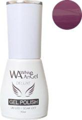 Paarse Gellex White Angel Gellex Deluxe Gel Polish, gellak, gel nagellak, shellac - Gooseberry 221