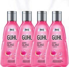 Guhl Glans Shampoo 4 x 250 ml - Voordeelverpakking