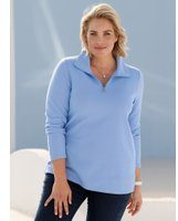 Sweatshirt m. collection Blauw