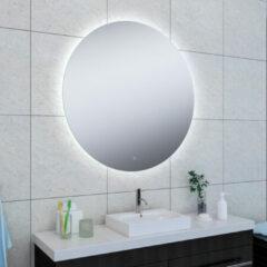 Douche Concurrent Badkamerspiegel Soul Rond 100x100cm Geintegreerde LED Verlichting Verwarming Anti Condens en Touch Schakelaar