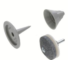Messerschärfkit & Auswuchtkit (Rasenmähermesser) für Rasenmäher