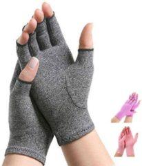 Pro-orthic Therapeutische Reuma Artritis Compressie Handschoenen voor Pijnverlichting, Ondersteuning & Verbetering van de Bloedsomloop   Grijs Small