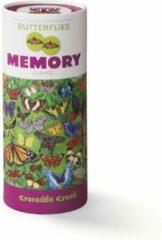 Paarse Crocodile Creek 36 Animal Memory/36 Butterflies