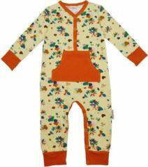 Gebroken-witte Baba Babywear Baba - Pyjama zonder voetjes - Flower Field - 9m