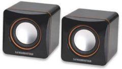 Manhattan 2600 Series Speaker System - Lautsprecher - tragbar - 6 Watt (Gesamt) 161435