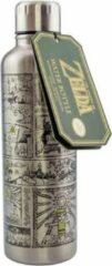 Zilveren Paladone ZELDA - The Legends of Zelda - Water Bottle 450ml