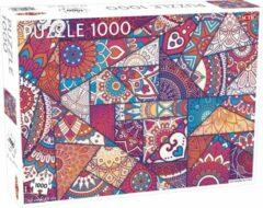 Tactic Puzzel Lovers' Special: Patchwork Patterns - 1000 stukjes