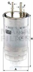 MANN FILTER Brandstoffilter WK853 / 21