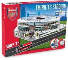 Nanostad 3D puzzel Arsenal FC Emirates Stadium - 108 stukjes