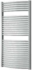 Douche Concurrent Designradiator Plieger Onda 119,6x58.5cm 804 Watt Zilver Metallic Zijaansluiting