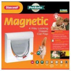Petsafe Dierenluik 932 Magnetic S - Kattenluik - 10.5x22.6x22.8 cm Wit 932