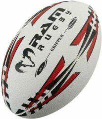 New Gripper Pro rugbybal - Jeugd wedstrijdbal - 3D grip - Maat 4 - Rood