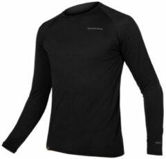 Endura - Baabaa Blend Langarm Baselayer - Sport-T-shirt maat S, zwart