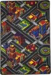 Dywanik Speelkleed - Verkeerskleed - speeltapijt - Stratentapijt - Smart City 100 x 150 cm - Design 12