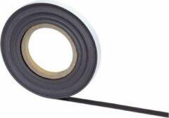 Antraciet-grijze MAUL Magneetband - Zelfklevend - 10 m x 10 mm x 1 mm