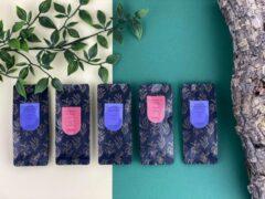 Moments Tea Box Small; Groene thee - 5 smaken - losse thee - ±6 kopjes per smaak
