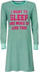 Irresistible Dames Nachthemd Groen Maten: XXL